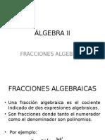 Algebra Fracciones Para Pregrado
