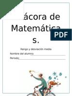 Bitácora de Matemáticas