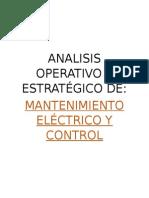 Analisis Operativo y Estratégico De mantenimiento