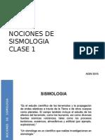 2015 Utem Sismicidad Clase 1 Nociones de Sismologia