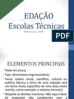 Redação Para Escolas Tecnicas