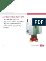 Laser Scanner Scan Station C10