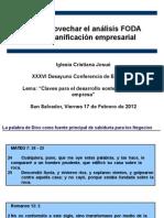 Presentacion de FODA 2012