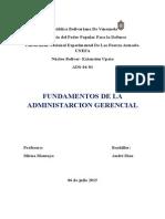 La Administración Gerencial