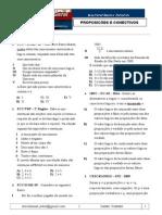 01.2 - Proposições [Questões de Concursos]
