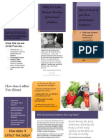 Gestational Diabetes Brochure ENG