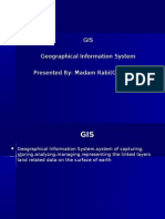 GIS Geographical Information System Presented by