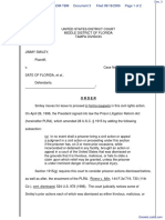 Smiley v. State Of Florida et al - Document No. 3