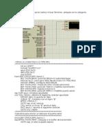 Ejemplo Transmisión y Recepción Serial PIC16F877