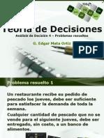 Teoría de Decisiones 4 DA-Repaso