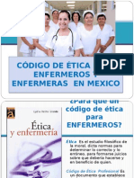Código de Ética en Enfermería