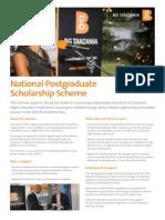 BG National Scholarship Scheme Flyer- Jul 2015