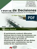 Teoría de Decisiones 5 Diagramas de Influencia