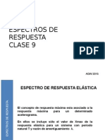 2015 Utem Sismicidad Clase 9 Espectros de Respuesta