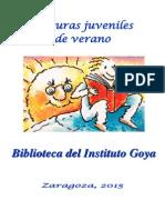 Lecturas Juveniles Verano 2015