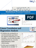 7BTOQ Linear Correlation and Regression Analysis