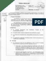 Tesda Circular16-Implementing Guidelines Natcac 2