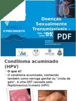 DOENÇAS SEXUALMENTE TRASMISSÍVEIS