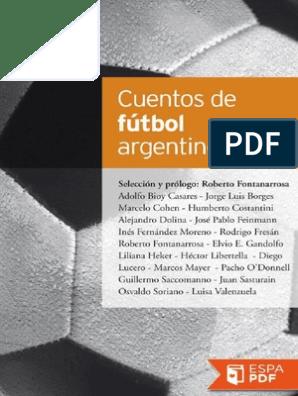 Cuentos De Futbol Argentino Aa Vv Fútbol Deportes