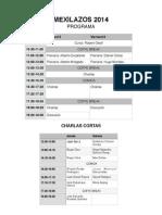 Programa Mexilazos2014