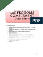 pronomscomplmentdobjetdirectcod