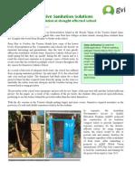 GVi Fiji June 2015 Achievement Report - Compost Toilet installation