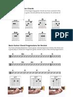 All 7 Beginner Guitar Chords