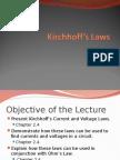 Kirchoff Laws