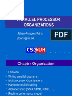 Chapter VIII Parallel Processor Organizations