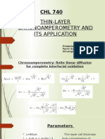 Thin-layer Chronoamperometry and Its Application