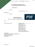 CARFAGNO et al v. THE PHILLIES - Document No. 4