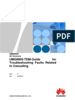 UMG8900-TDM-Guide for Troubleshooting Faults Related to Cascading