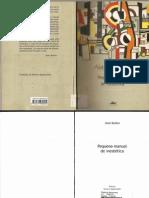 Alain Badiou -Pequeno Manual de Inestetica
