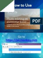 Designing Images Using Picmonkey