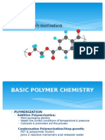 Lecture 2.0 Polymerisation