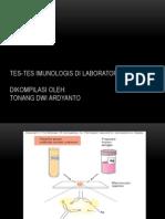 Uji Imunologi - FK UNS 2015 - Tonang