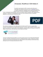 Colt Academy Corsi Di Joomla, WordPress E SEO Online E Costruite in Aula