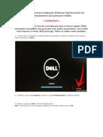 Formatar Note Dell
