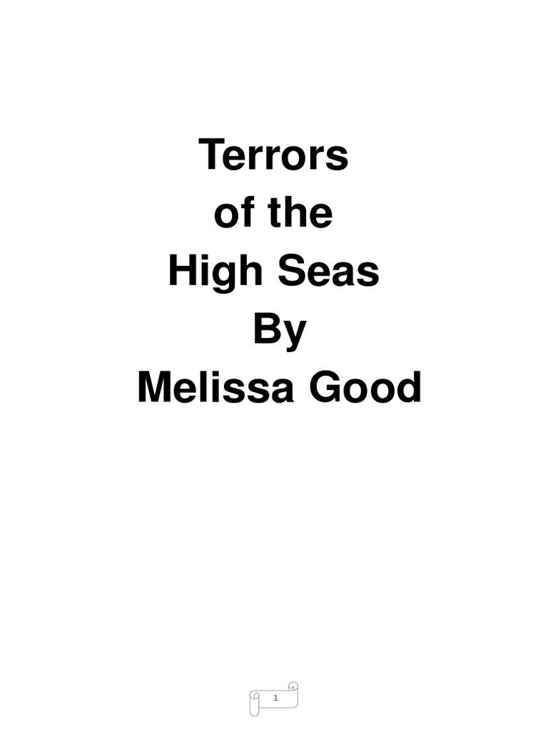 Pressed Of Melissa High Seas Terrors 5 cR54qL3Aj