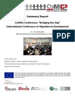 Report CoMiDe-Conference 23 24 Jan 12