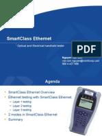 SmartClass Ethernet Presentation