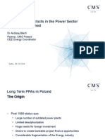 CMS- Long Term PPAs in Poland and Hungary