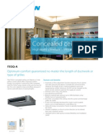 FXSQ-A Concealed Ceiling Unit