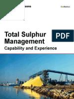 Total Sulphur Management