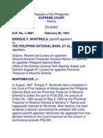 Montinola vs PNB