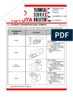 Automatic Transmission Serial Numbers T-tc004-96