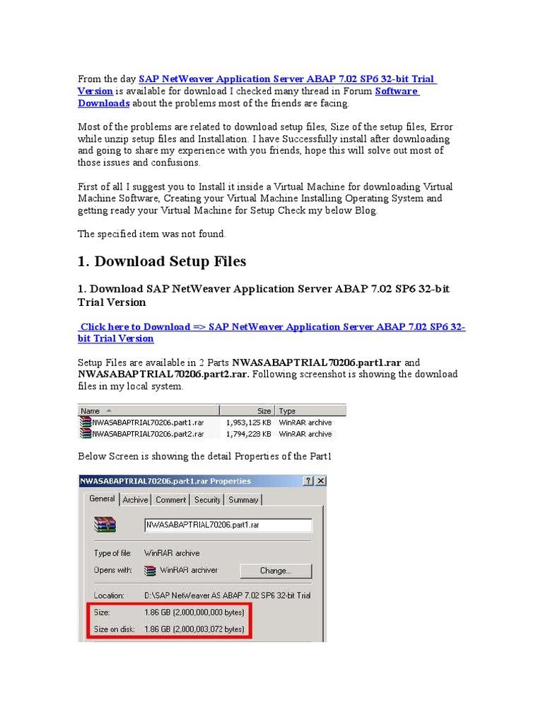 Howinstal Sap Installation Computer Programs Computer File
