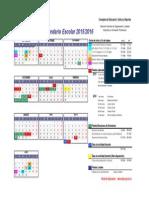 Calendario 2015-16 REGION