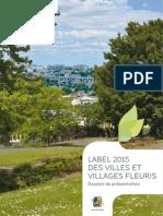 Villes fleuries 2015