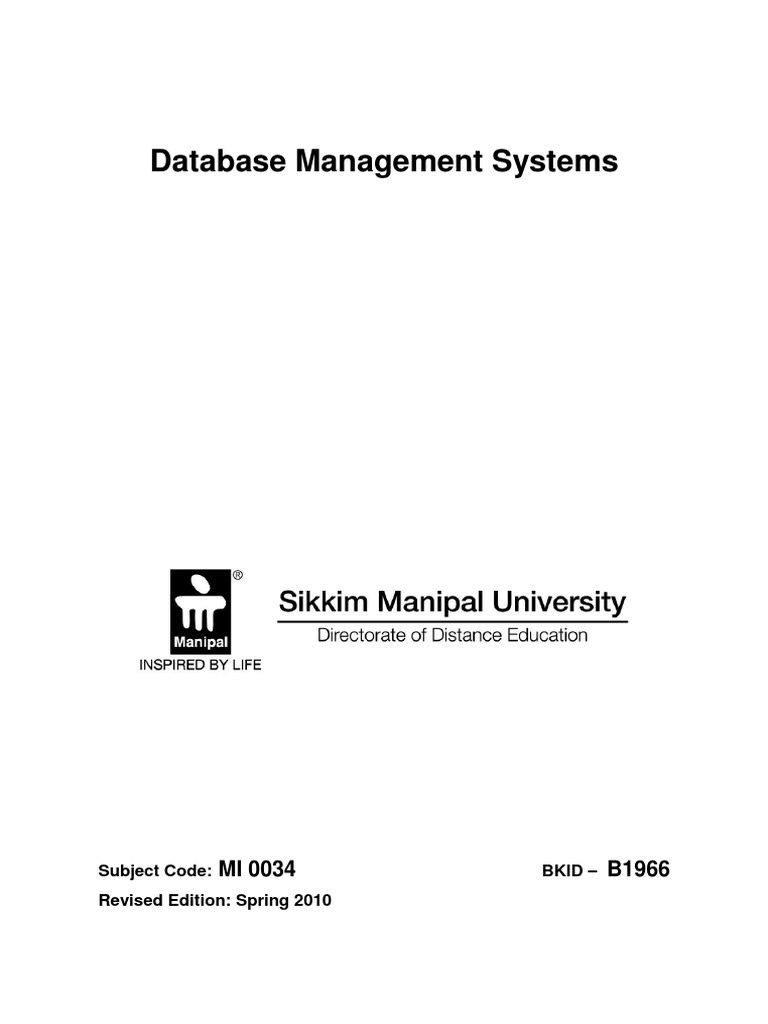 Dbms relational model databases baditri Choice Image